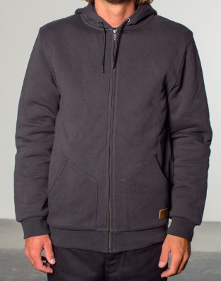 Mens Sportswear BRIXTON MENS BILLINGS QUILTED FLEECE