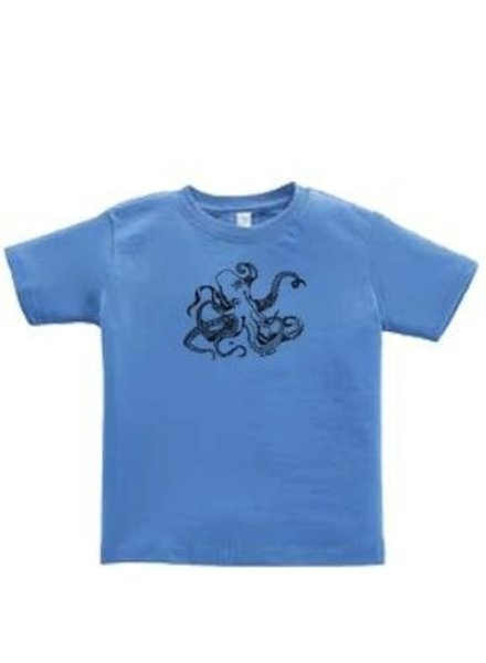 Logo OCTOPUS FRONT PRINT TODDLER SHORT SLEEVE TEE