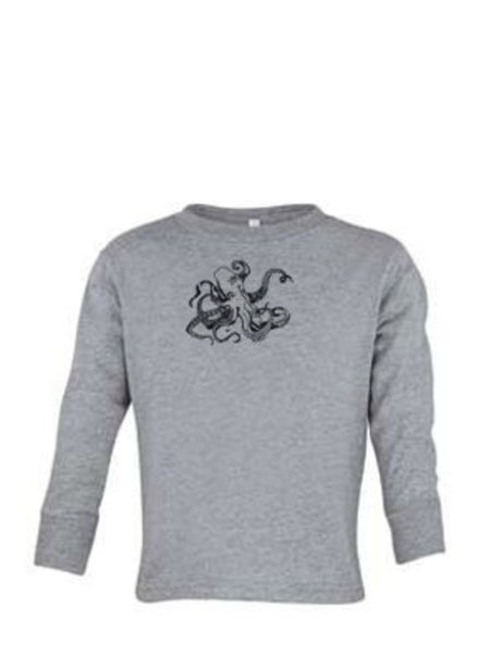 Logo OCTOPUS FRONT PRINT TODDLER LONG SLEEVE TEE