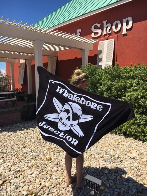 Logo LOGO TOWEL - WHALEBONE JUNCTION WOVEN TOWEL