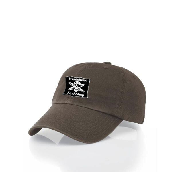 Logo LOGO HAT - ORIGINAL BLACK PATCH ADJUSTABLE CHINO HAT WITH METAL COMFORT BUCKLE