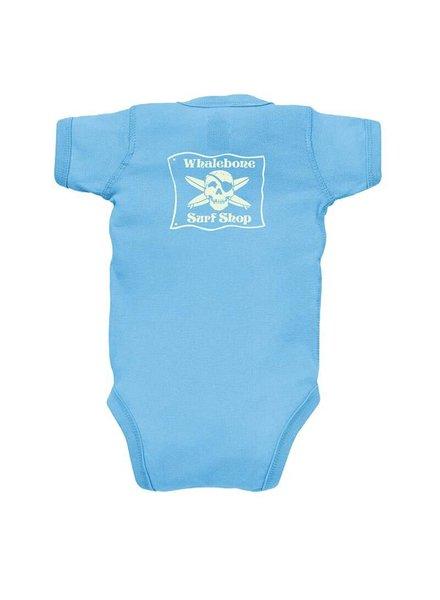 Whalebone Logo BABY ORIGINAL GLOW BODYSUIT
