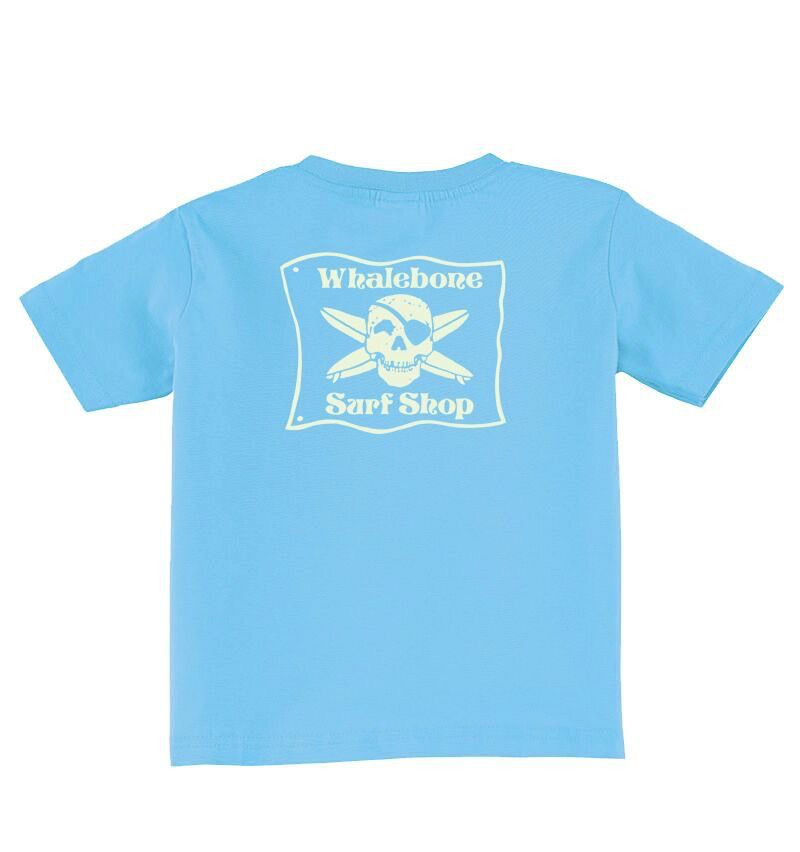 Whalebone Logo BABY/TODDLER WHALEBONE SURF SHOP GLOW SHORT SLEEVE TEE