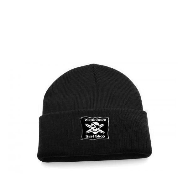 LOGO HAT - BEANIE - ORIGINAL KNIT RIBBED ROLL UP