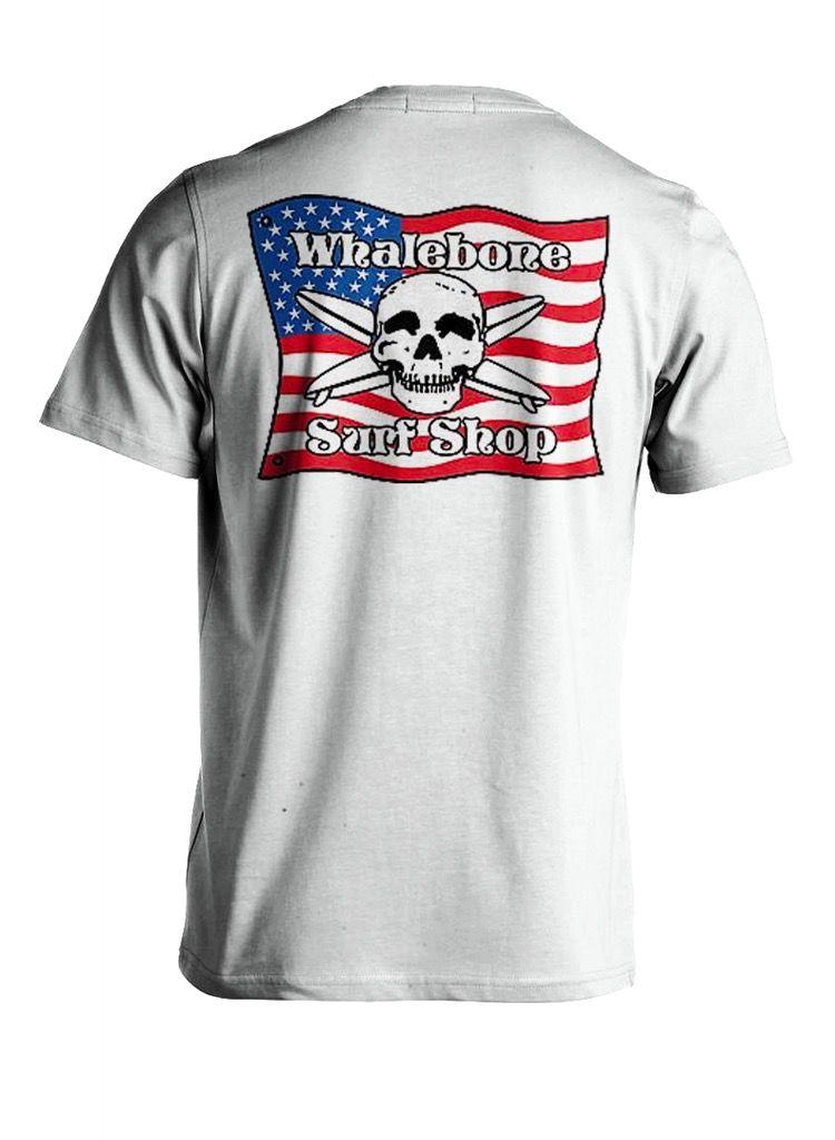 Logo AMERICAN FLAG SHORT SLEEVE TEE