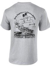 Logo SURF PIRATE SHIP SHORT SLEEVE TEE