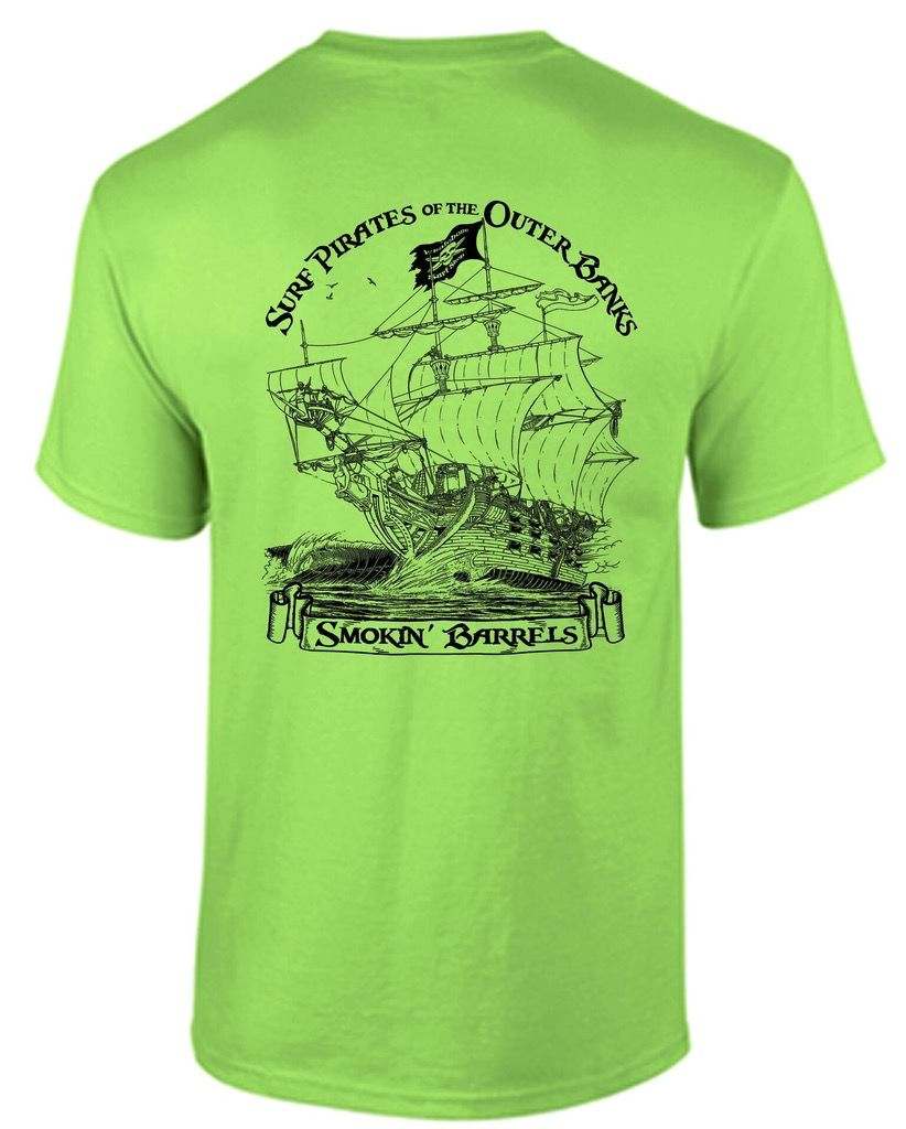 Whalebone Logo SURF PIRATE SHIP SHORT SLEEVE TEE