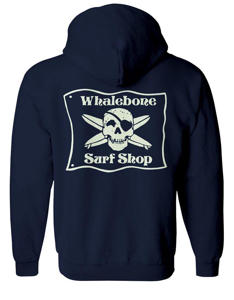 Whalebone Logo *WHALEBONE SURF SHOP GLOW LOGO PULLOVER HOODIE