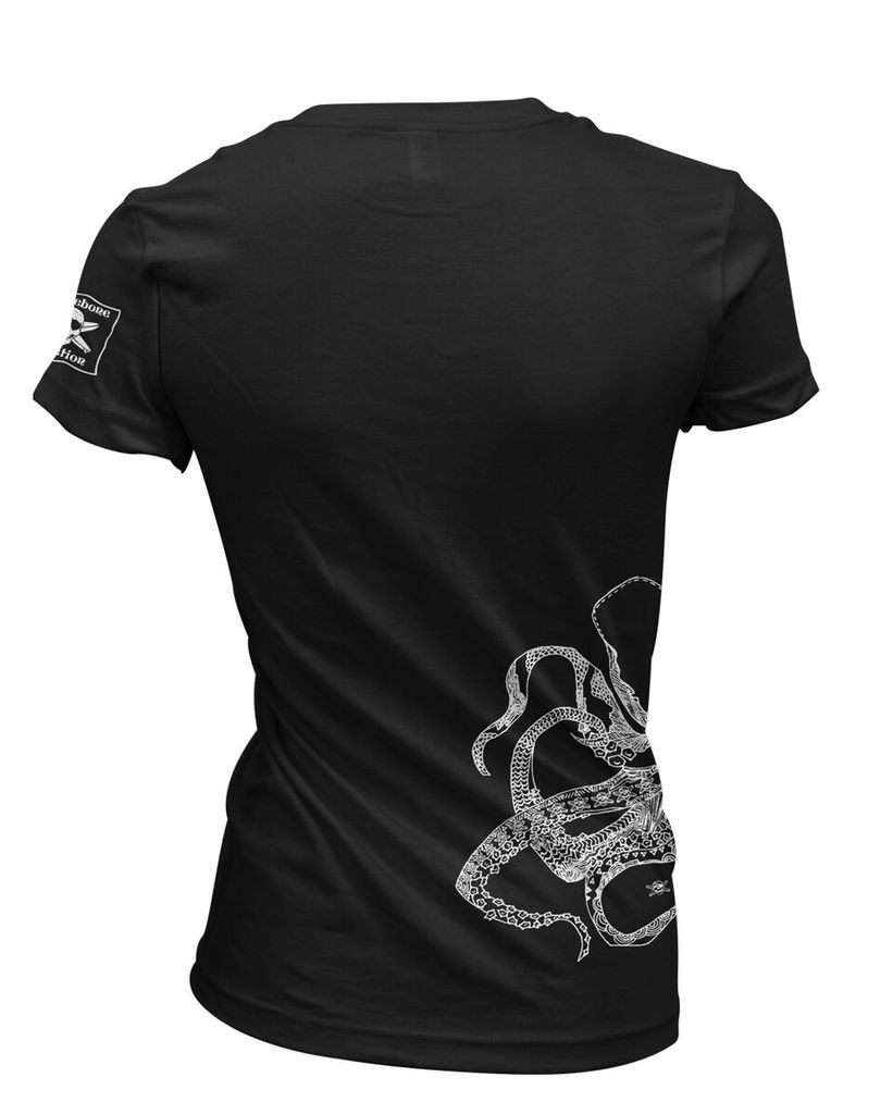 Logo WOMENS OCTOPUS V NECK TEE