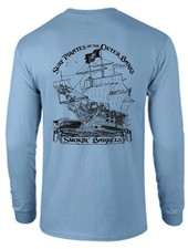 SURF PIRATE SHIP LONG SLEEVE TEE