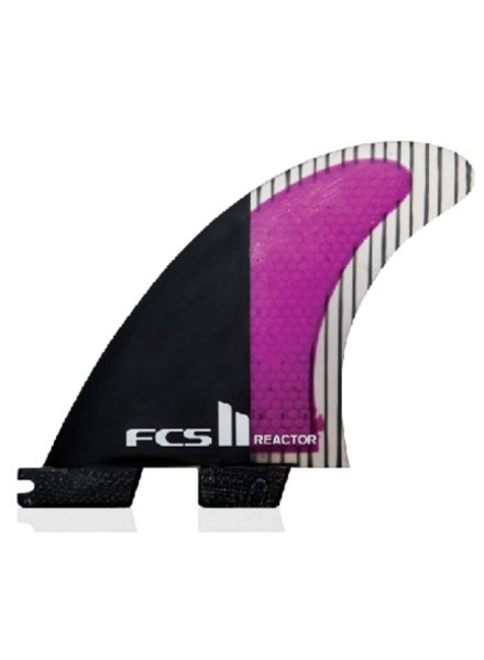 Surf Accessories FCS II Reactor PC Carbon Large Tri Fins