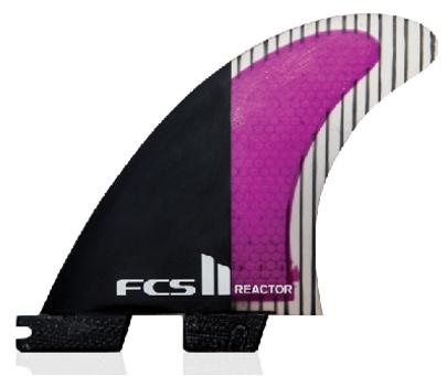 Surf Accessories FCS II Reactor PC Carbon Large Tri Fins