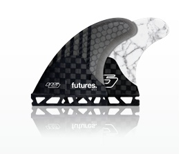 Surf Accessories FUTURES HS2 V2 GENERATION THRUSTER FINS