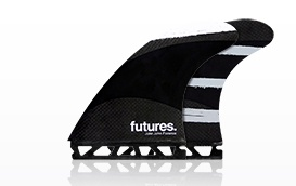 Surf Accessories FUTURES JOHN JOHN FLORENCE LARGE TECHFLEX THRUSTER FINS
