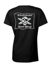 WOMENS WHALEBONE CREW SHORT SLEEVE TEE