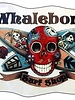 Whalebone Logo LOGO STICKER - DAY OF THE DEAD