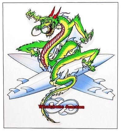 Whalebone Logo LOGO STICKER - DRAGON