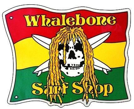 Whalebone Logo LOGO STICKER - RASTA FLAG DREDS
