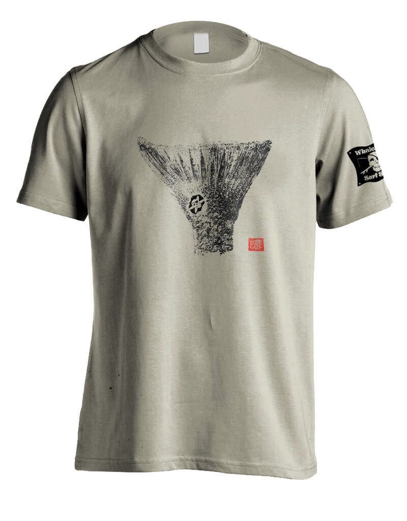 Whalebone Logo DRUM TAIL PRINT PREMIUM SHORT SLEEVE TEE