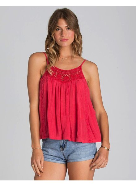 Ladies Sportswear BILLABONG WOMENS MIDSUMMER TIDES TOP