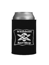 Whalebone Logo WHALEBONE SURF SHOP MOLDED CAN INSULATOR