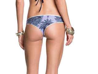 Ladies Swimwear MAAJI PORCELAIN WAVE CHI CHI BOTTOM