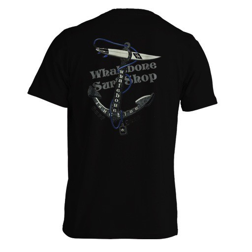 Whalebone Logo ANCHOR PREMIUM SHORT SLEEVE TEE