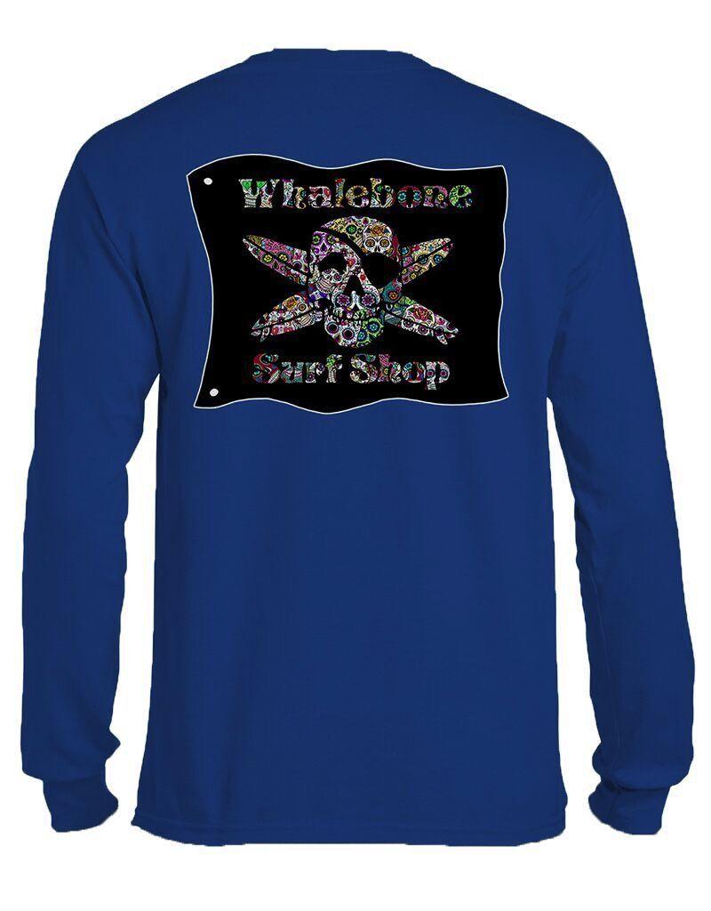 Whalebone Logo SUGAR SKULL LONG SLEEVE TEE