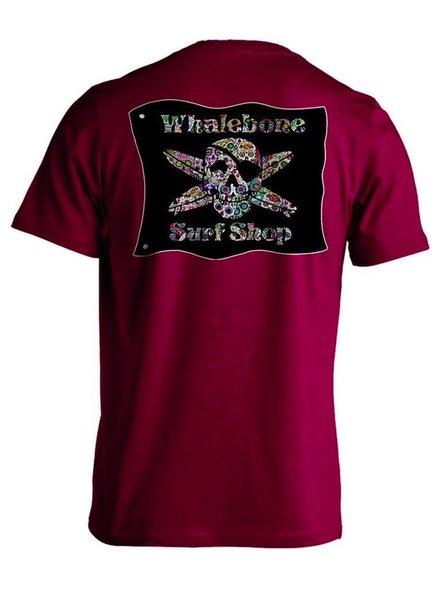 Whalebone Logo SUGAR SKULL PREMIUM SHORT SLEEVE TEE