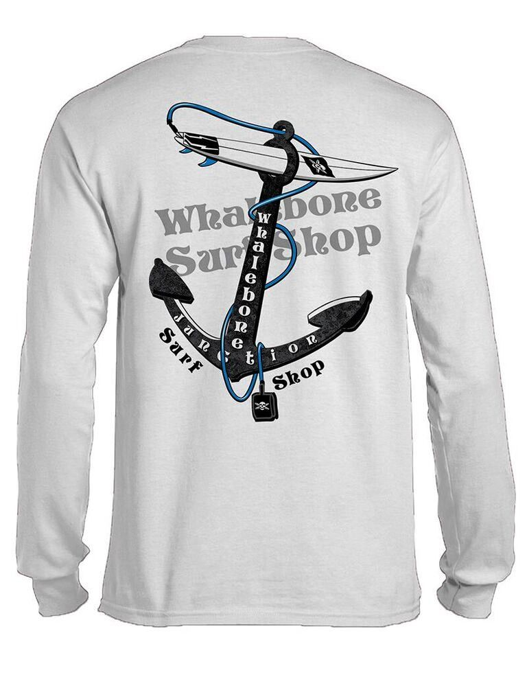 Whalebone Logo ANCHOR LONG SLEEVE TEE