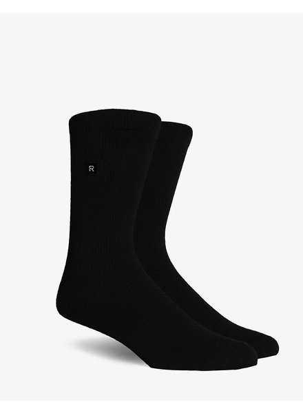 Richer Poorer RICHER POORER BASE BASIC ATHLETIC BLACK COMPRESSION SOCK