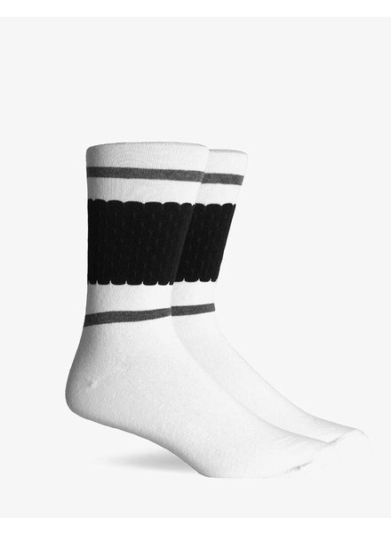 Richer Poorer RICHER POORER CORE WHITE TEXTURED CREW SOCK