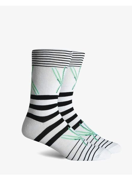 Richer Poorer RICHER POORER GETAWAY WHITE CREW SOCK