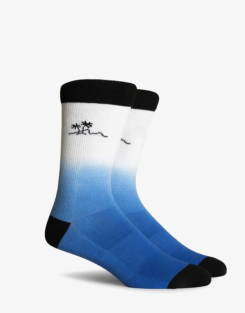 Richer Poorer RICHER POORER SHAKA CA COLLECTION BLUE CREW SOCK