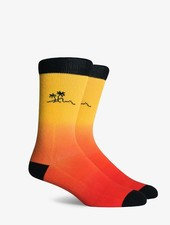 Richer Poorer RICHER POORER SHAKA CA COLLECTION RED CREW SOCK
