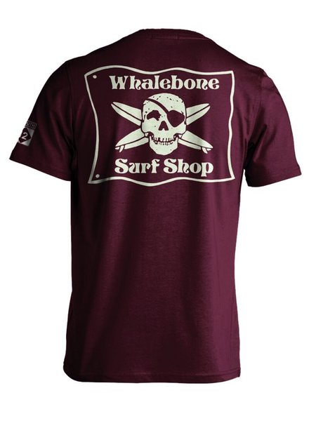 Whalebone Logo *WHALEBONE SURF SHOP GLOW LOGO PREMIUM SHORT SLEEVE TEE