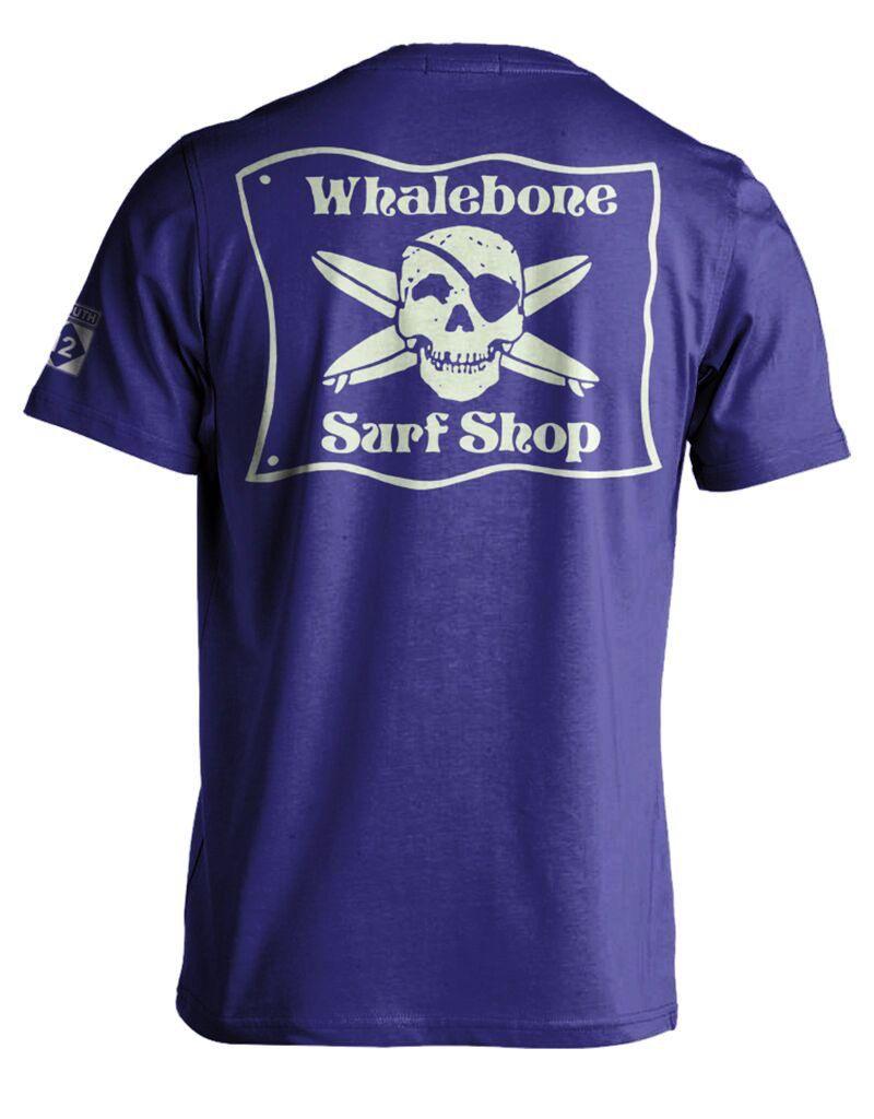 Whalebone Logo WHALEBONE SURF SHOP ORIGINAL GLOW LOGO SHORT SLEEVE TEE