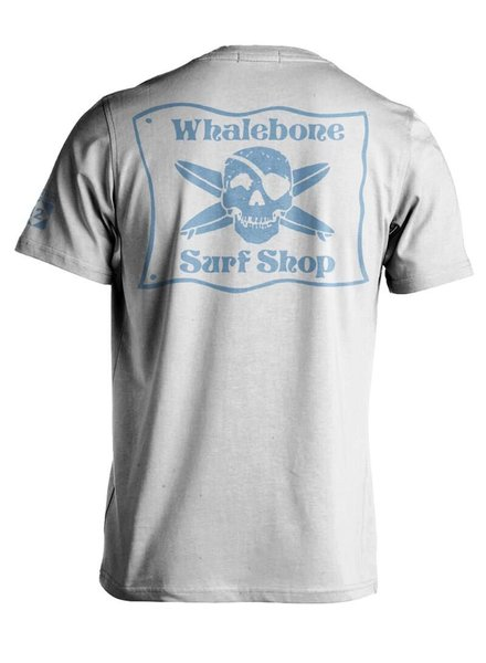 Whalebone Logo *WHALEBONE SURF SHOP BLUE FLAG LOGO SHORT SLEEVE TEE