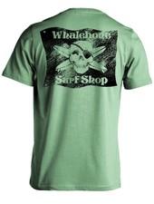 Whalebone Logo BLACK FLAG SANDED LOGO SHORT SLEEVE TEE