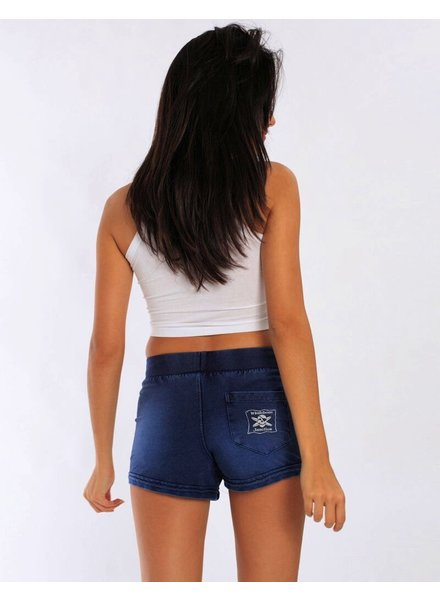 Whalebone Logo WOMENS WHALEBONE LOGO DENIM LOOK SHORTS