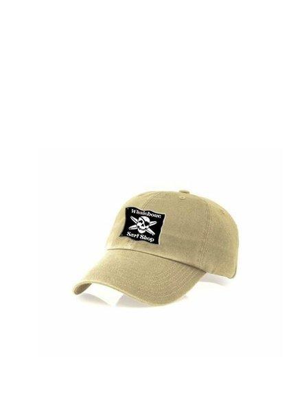Whalebone Logo LOGO HAT - KIDS ORIGINAL GARMENT WASHED CHINO HAT WITH ELASTIC BACKSTRAP