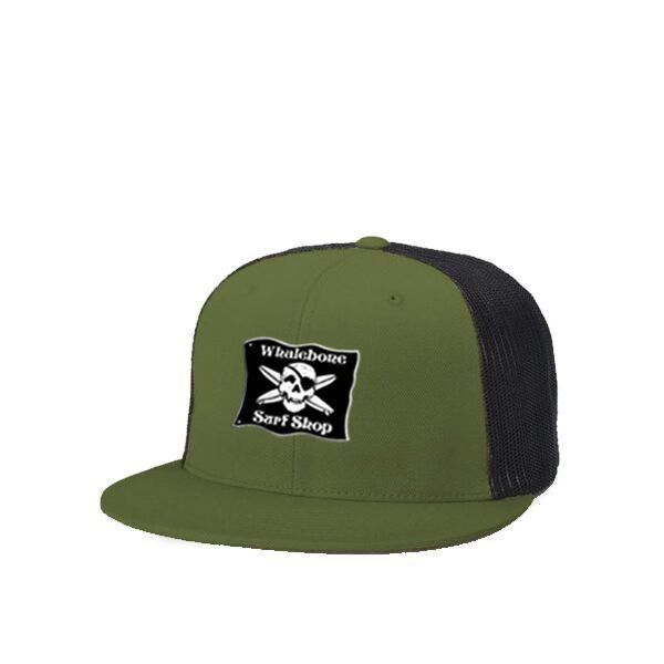 LOGO HAT - SNAP BACK FLAT BILL TRUCKER HAT