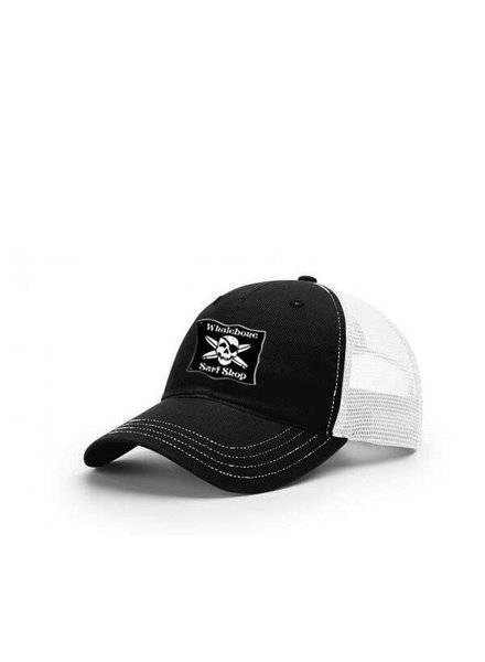 Whalebone Logo LOGO HAT - ORIGINAL MESH BACK UNSTRUCTURED GARMENT WASHED TWILL FRONT