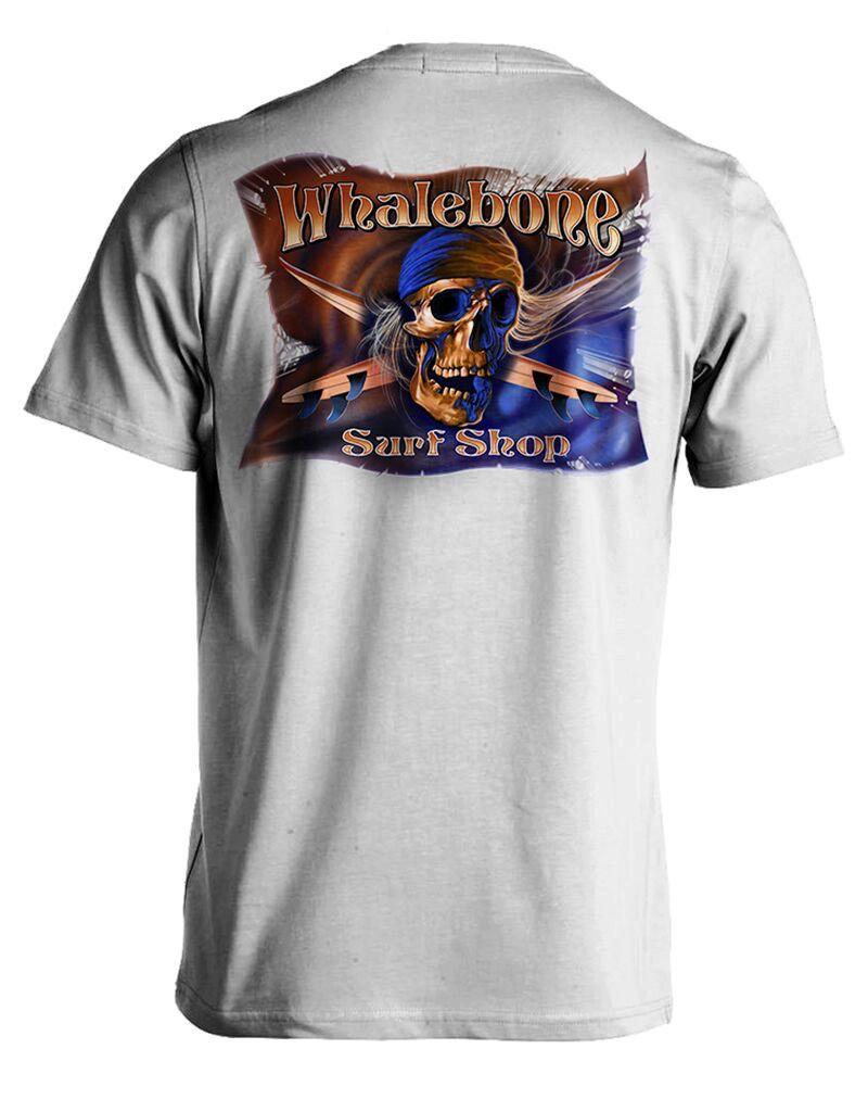 Whalebone Logo GREY GHOST COLOR SHORT SLEEVE TEE