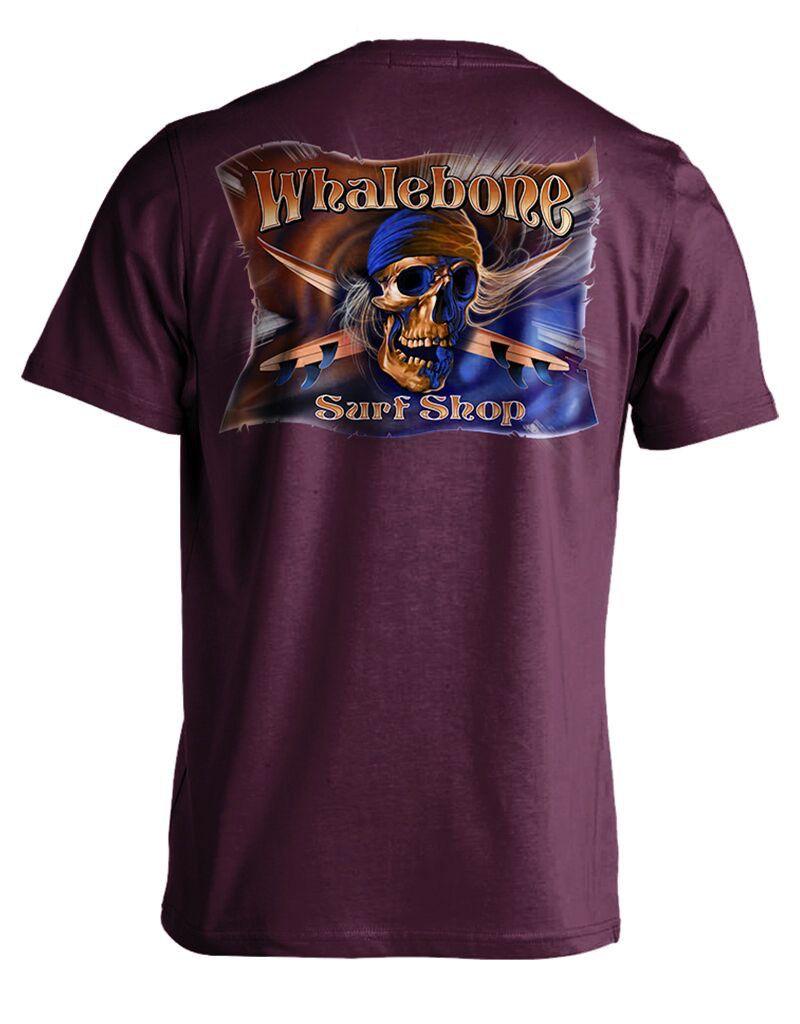 Whalebone Logo GREY GHOST COLOR PREMIUM SHORT SLEEVE TEE