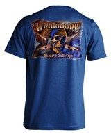 Whalebone Logo MENS GREY GHOST COLOR PREMIUM SHORT SLEEVE TEE