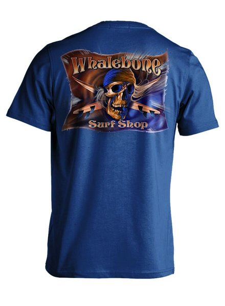 Whalebone Logo MENS GREY GHOST COLOR PREMIUM SHORT SLEEVE TEE