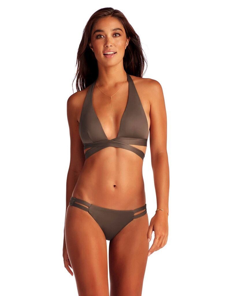 Vitamin A VITAMIN A SIRENA WRAP TOP