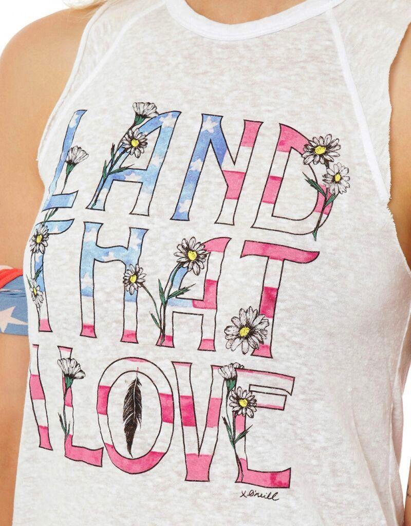 Ladies Sportswear ONEILL WOMENS LAND LOVE TANK