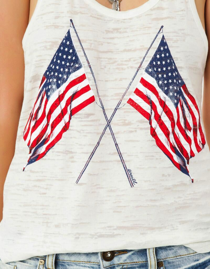 Ladies Sportswear ONEILL WOMENS OLD GLORY TANK